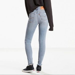 721 Vintage High Rise Cropped Skinny Jean